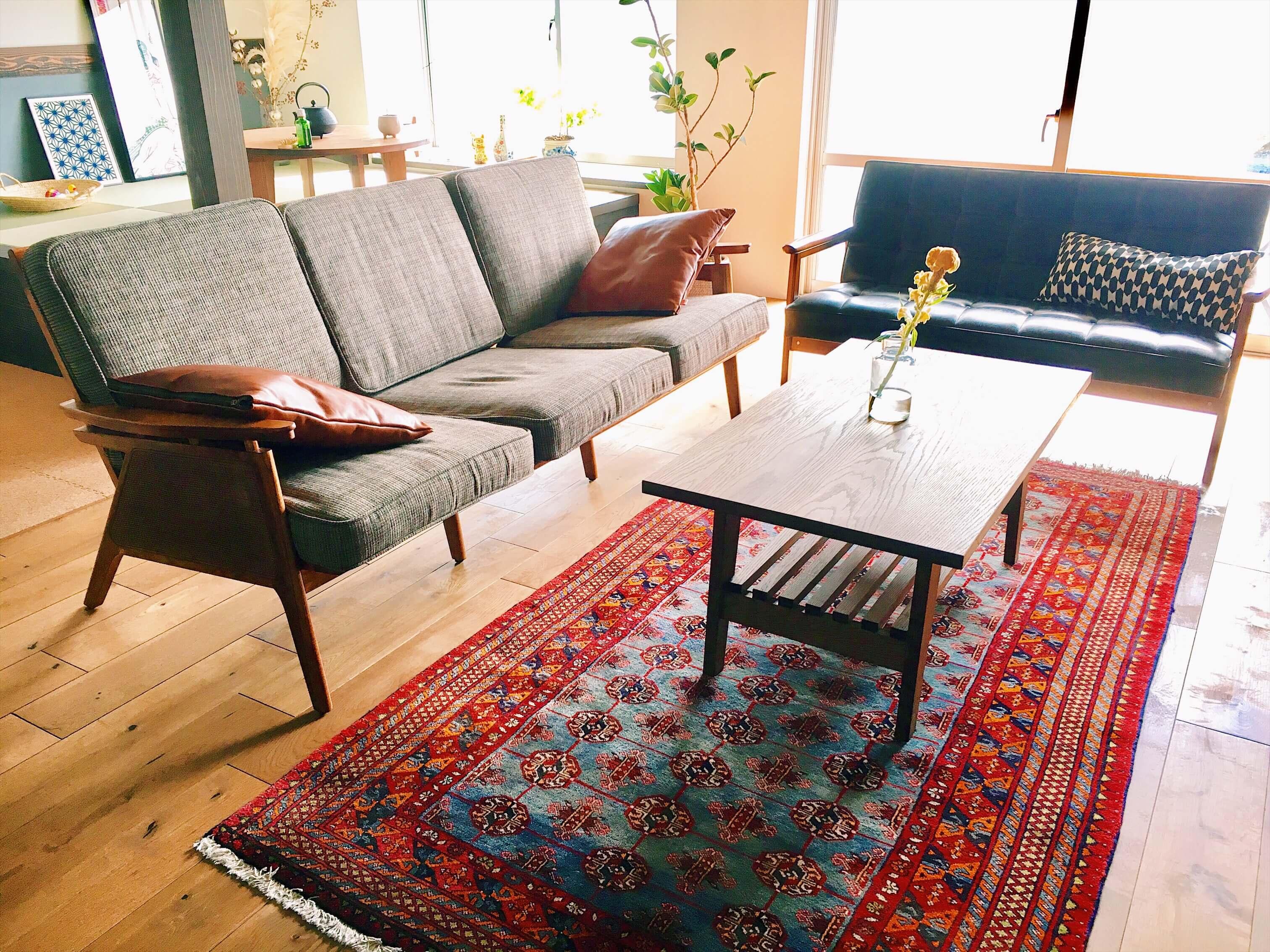 自分だけの1枚を見つけよう!~トライバルラグ~   札幌の家具